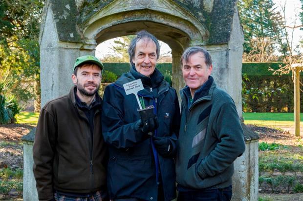 (l - r) James Hall, John Glover and Joe Sharman. Image: Taka Wu
