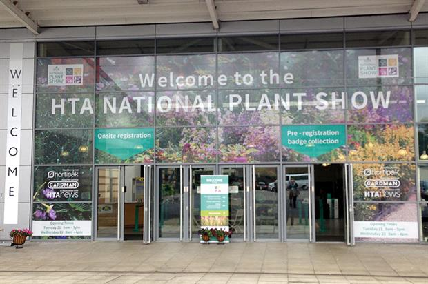 HTA National Plant Show: plants introduced to buyers from Morrisons, Dobbies, Homebase, B&Q and independents - image: HW