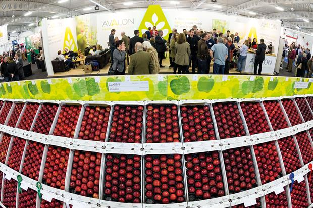 Defra is due to attend the National Fruit Show to explain about food export opportunities