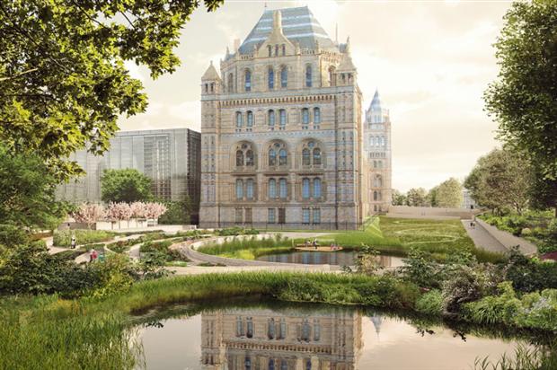 Artist's impression of the future Western Gardens, the current Wildlife Garden site. Image: Pictureplane
