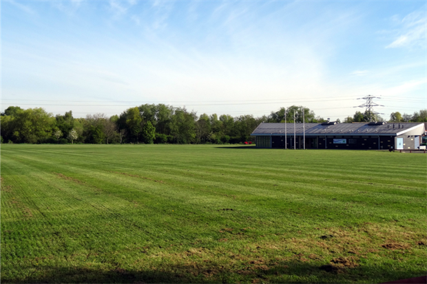 After treatment: The Peterborough Football & Sports Development Foundation pitches. Image: British Sugar TOPSOIL