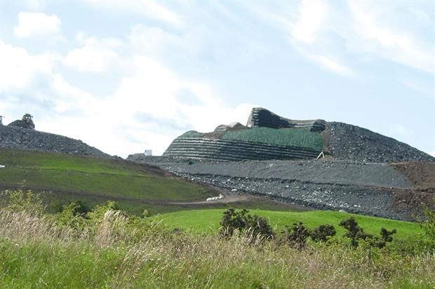 Northumberlandia: park was built by the Banks Group