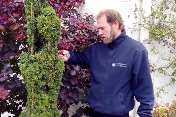 Paul Gooding, garden developer, Geoghagan Group - image: Geoghagan Group