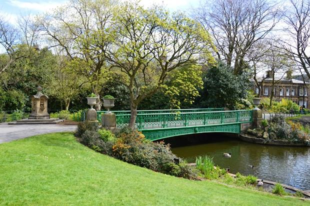 People's Park, Halifax, designed by Joseph Paxton in 1856 and restored through HLF funding. Image: Jan Woudstra