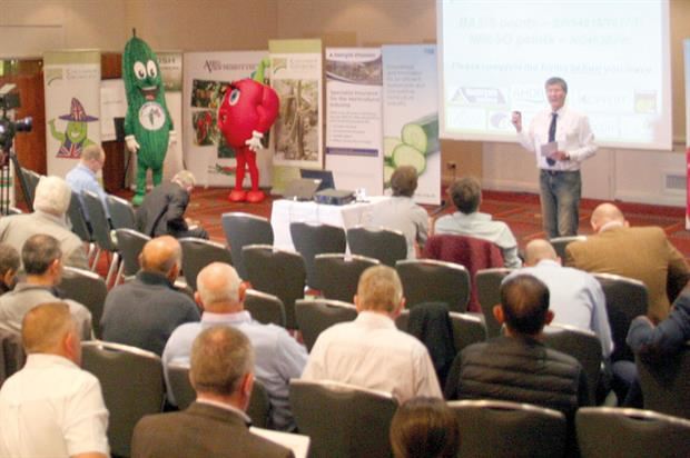 Conference: investment challenges facing cucumber producers have been exacerbated by low prices
