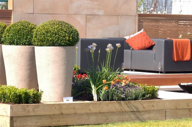 Best in show: Bestall & Co's Perennial Embrace