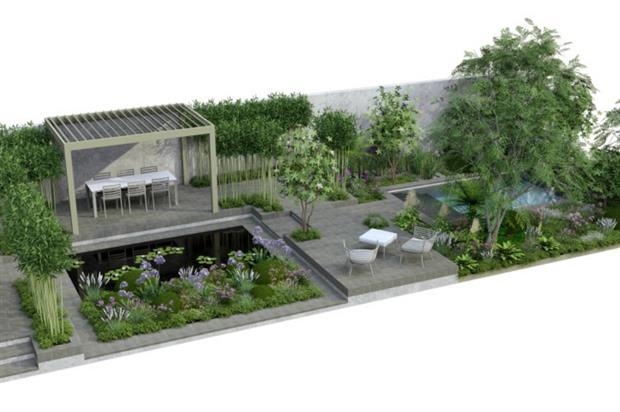 Artist's impression of the Giving Garden. Image: Perennial