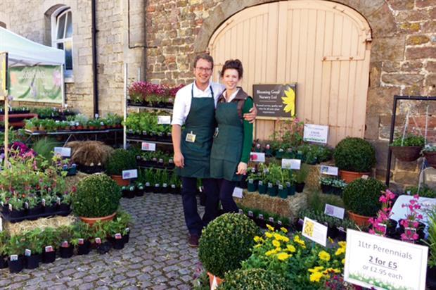 Peter Fieldwick, owner, Blooming Good Nursery - image: Blooming Good Nursery