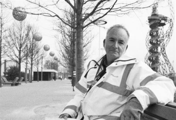 Phil Askew in the Olympic Park. Image: supplied