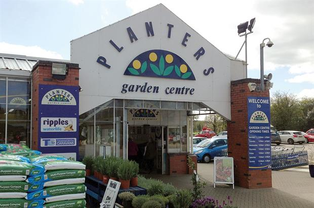 Planters Garden Centre: 25-year-old store located near Tamworth in Staffordshire - image: HW