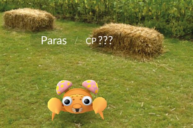 Pokémon Go: game being played in parks and gardens