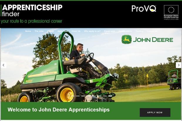 ProVQ's apprenticeship portal. Image: Supplied