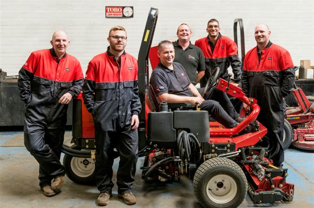 New members of the Reesink team in East Anglia. Image: Reesink Turfcare