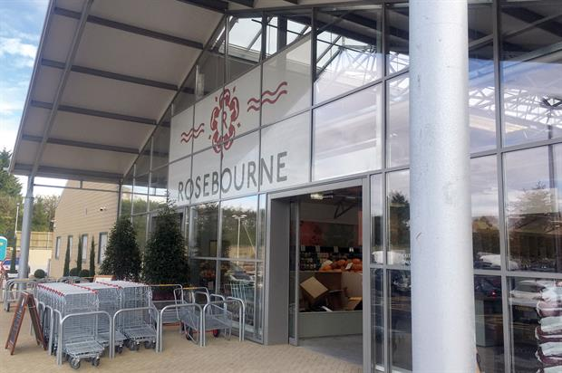 Rosebourne: garden centre aiming to offer everything for customers' weekly shop but without the brands of big supermarkets - image: HW