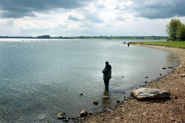 Grounds maintenance required at sites such as Rutland Water. Image: Anglian Water