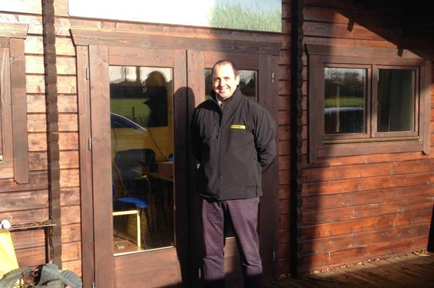 Barenbrug's new area manager for the south weat of England, Sam Horner