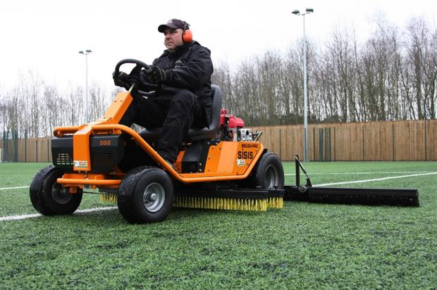 The SISIS Brush-Pro in action. Image: Supplied