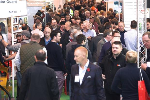 Visitors to SALTEX 2015. Image: IoG