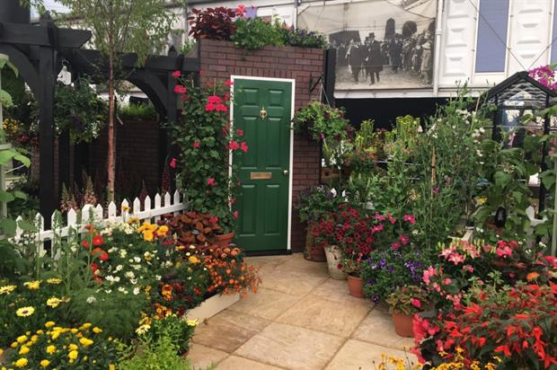 The Seed Garden in Sunflower Square. Image: Supplied