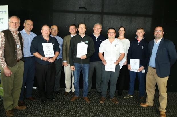 The winners of this year's awards at the Amenity Forum Conference. Image: Laurence Gale