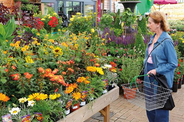 Rude health: garden centres have benefited from the upturn in the weather with increased in footfall for May - image: HW