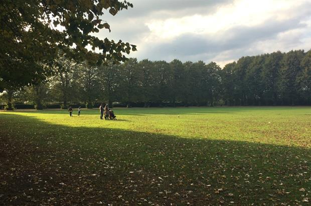 Park life: St James Park in Walthamstow, east London. Image: HW