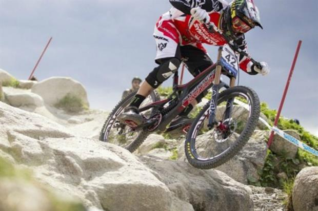 Champion mountain biker Steve Peat supports The Outdoor City. Image: Sheffield City Council