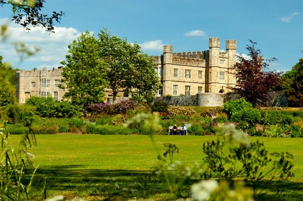 New gardens planned for Castle Island. Image: Leeds Castle