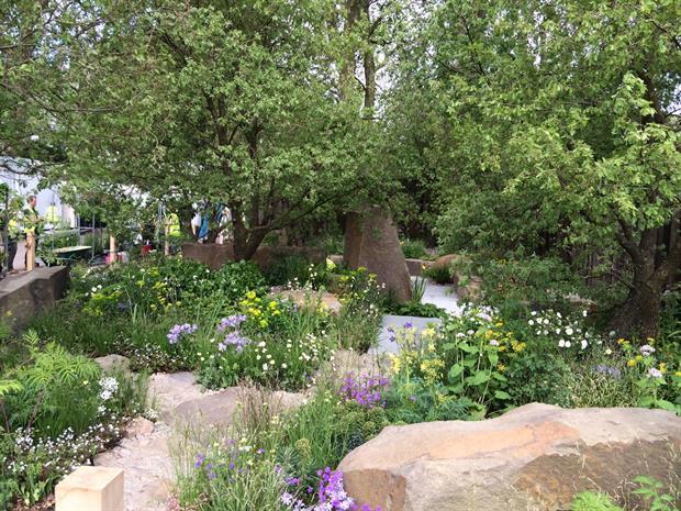 The M&G Garden. Image: HW