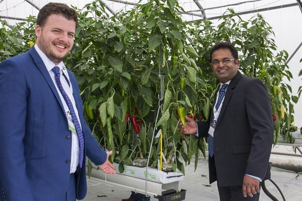 Cocogreen's Thomas Ogden and Dr Sudesh Fernando at the opening - image: Cocogreen