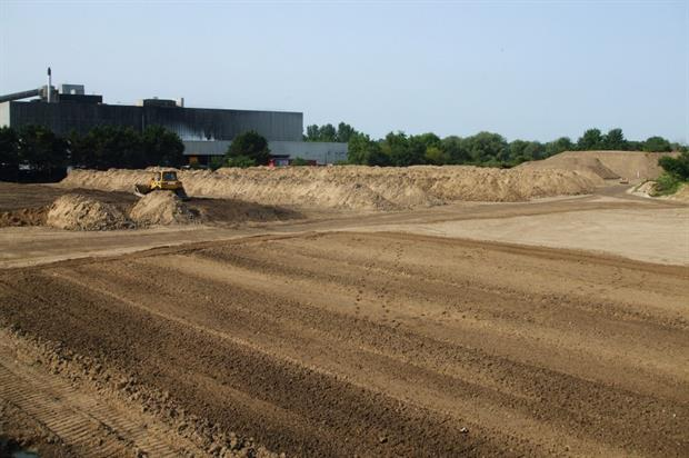 TOPSOIL conditioning area. Image: Supplied