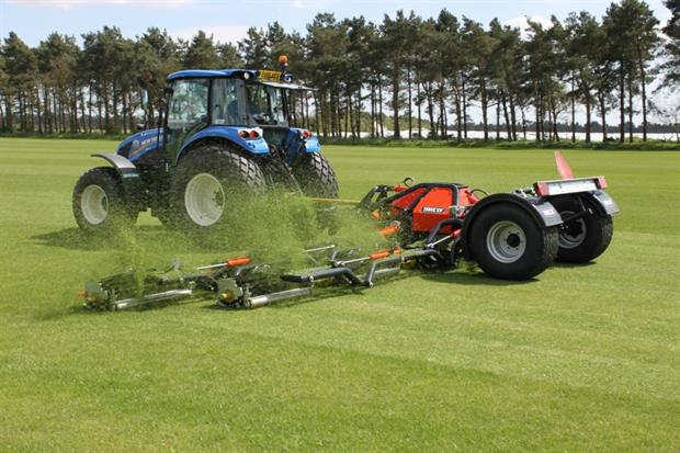 The TRILO R10 mower. Image: Supplied