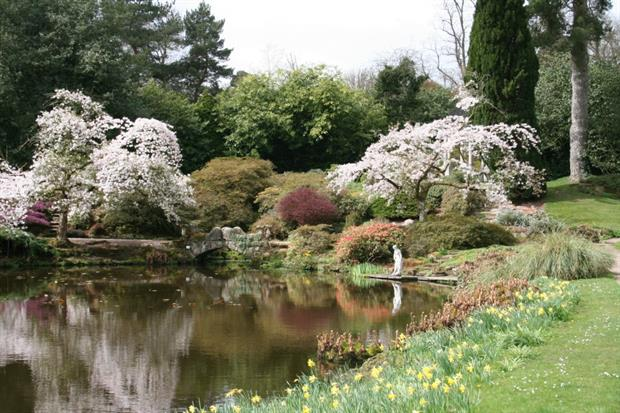 The Temple Garden at Cholmondeley. Image: Supplied