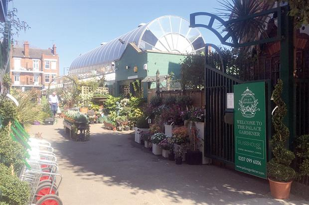The Palace Gardener: locals petitioned for garden centre and have been supportive - image: HW