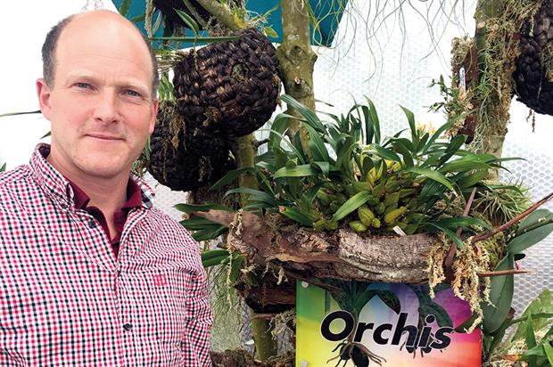 Hart Dyke: more than 80 varieties at new orchid house - image: The World Garden of Plants