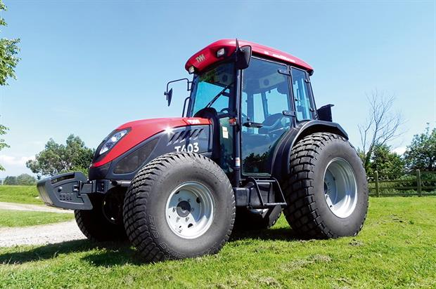 TYM tractors: service level agreement covers machinery dealers and service centres - image: HW