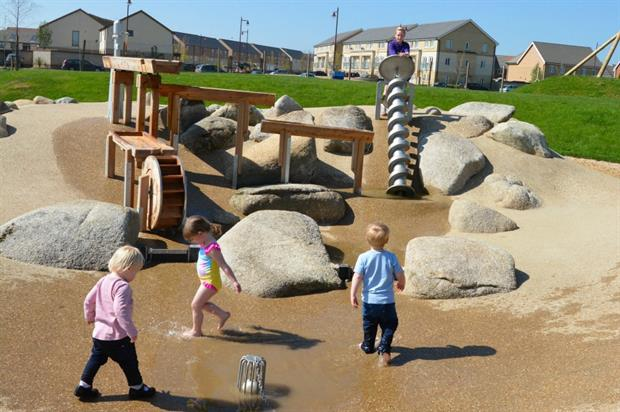 Upper Cambourne Play Area. Image: Supplied