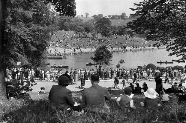 Thomas Trigg's photos show Whit Monday 1944. Image: Leeds Parks and Countryside
