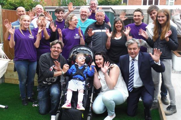 The Wellchild volunteers. Image: Supplied