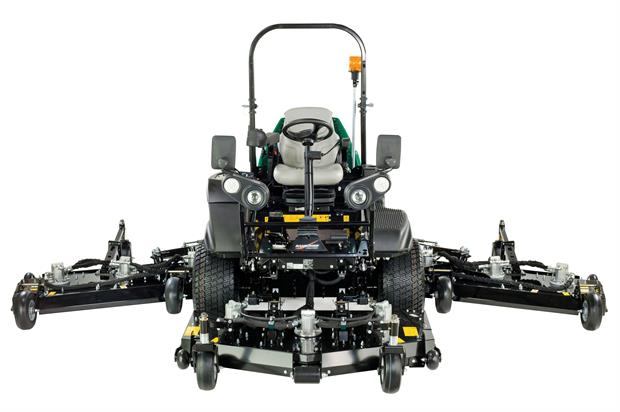 The Ransomes MP653XC wide-area rotary mower