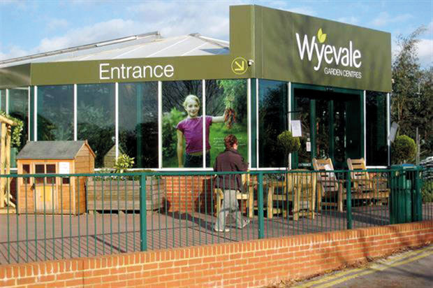 Wyevale: website preview for garden club members