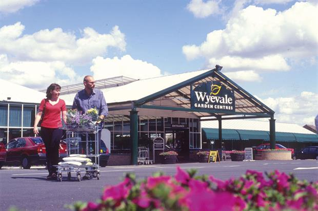 Wyevale: biggest garden centre chain with 151 outlets