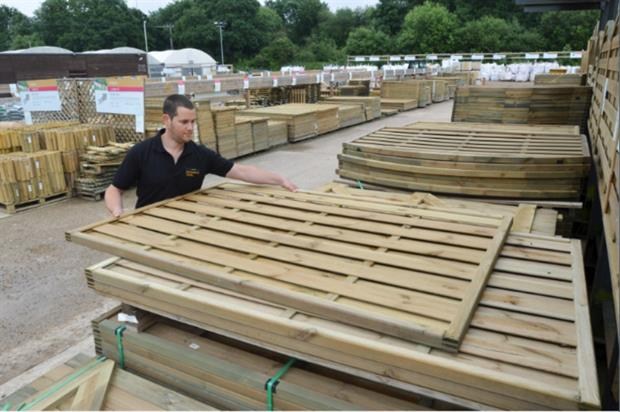 Wyevale rolling out four new landscape yards in-store. Image: Wyevale Garden Centres