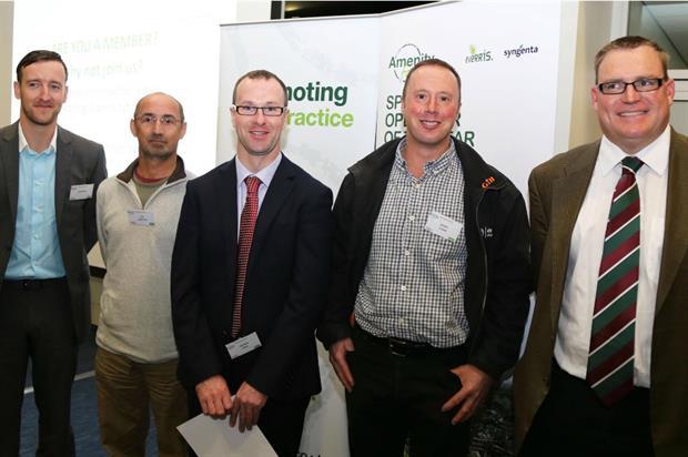 L-R: Adam Bell, Ian Haworth, Andrew Kerr, Daniel Clarke & James Wright. Image: Supplied