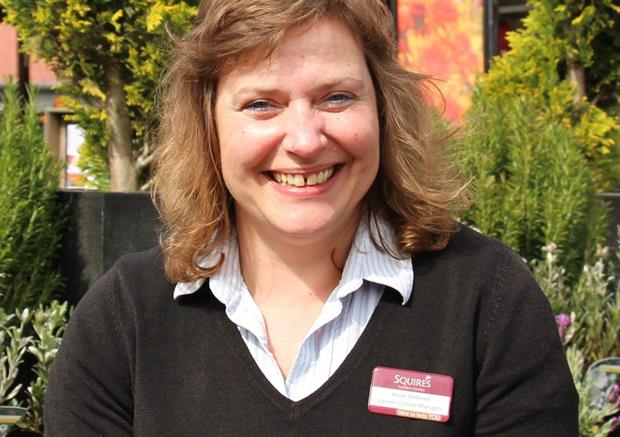 Anne Dedman, manager at Squire's Long Ditton garden centre