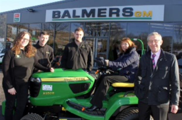 Members of the Balmers GM team. Image: Supplied