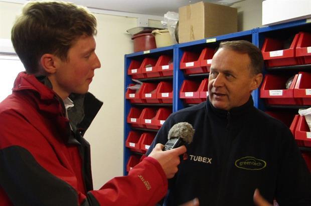 Gareth Barlow interviews Ian Rotherham. Image: Supplied
