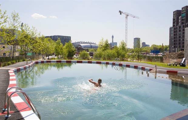 Biotop's Kings Cross pool