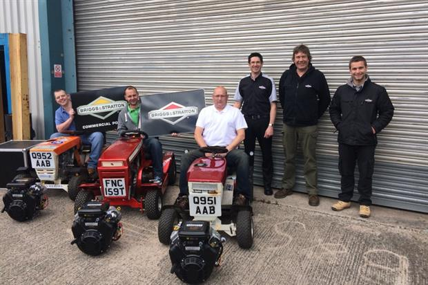 Briggs & Stratton is donating engines to the Lawn Way Round race. Image: Supplied