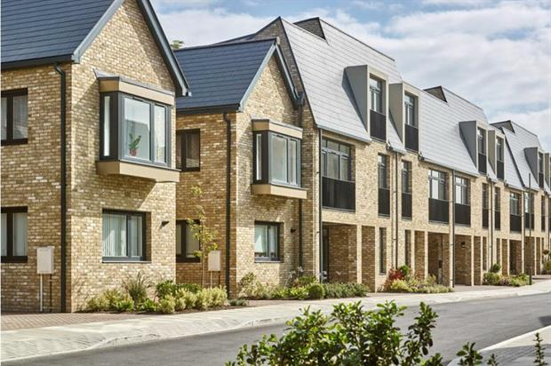 Artist's impression of Brook Valley Gardens homes. Image: Countryside